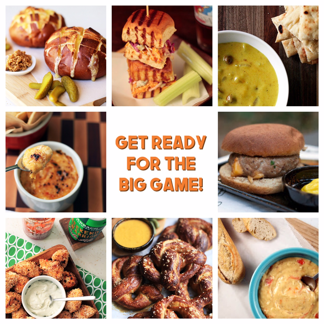 Super Bowl LI Dairymaids Recipes