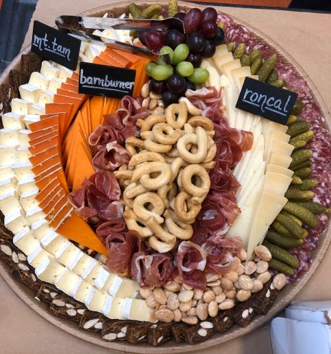 Combination Cheese & Charcuterie Tray (Large)