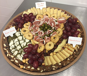 Combination Cheese & Charcuterie Tray (Small)